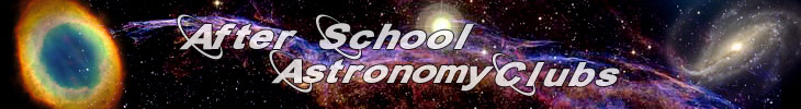 Afterschool Astronomy Club Header